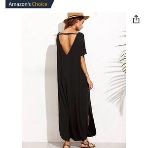 makemech Dresses - Black maxi dress